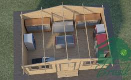 Деревянный магазин