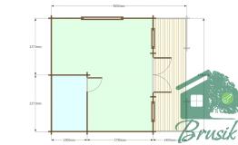План домика для дачи
