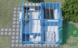 Планировка домика для дачи