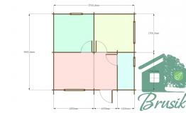План дома для дачи