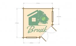План садового домика